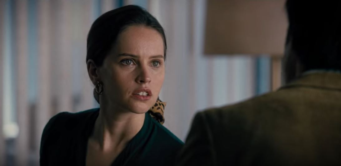 """Felicity Jones as Ruth Bader Ginsburg in the new biopic """"On the Basis of Sex"""""""