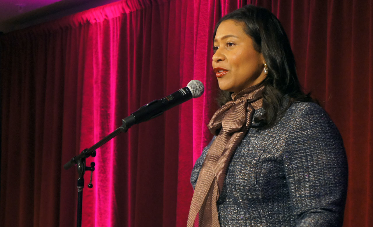 San Francisco Mayor London Breed at the JCCSF on Jan. 15 (Photo/Jeremy Russell-JCRC)