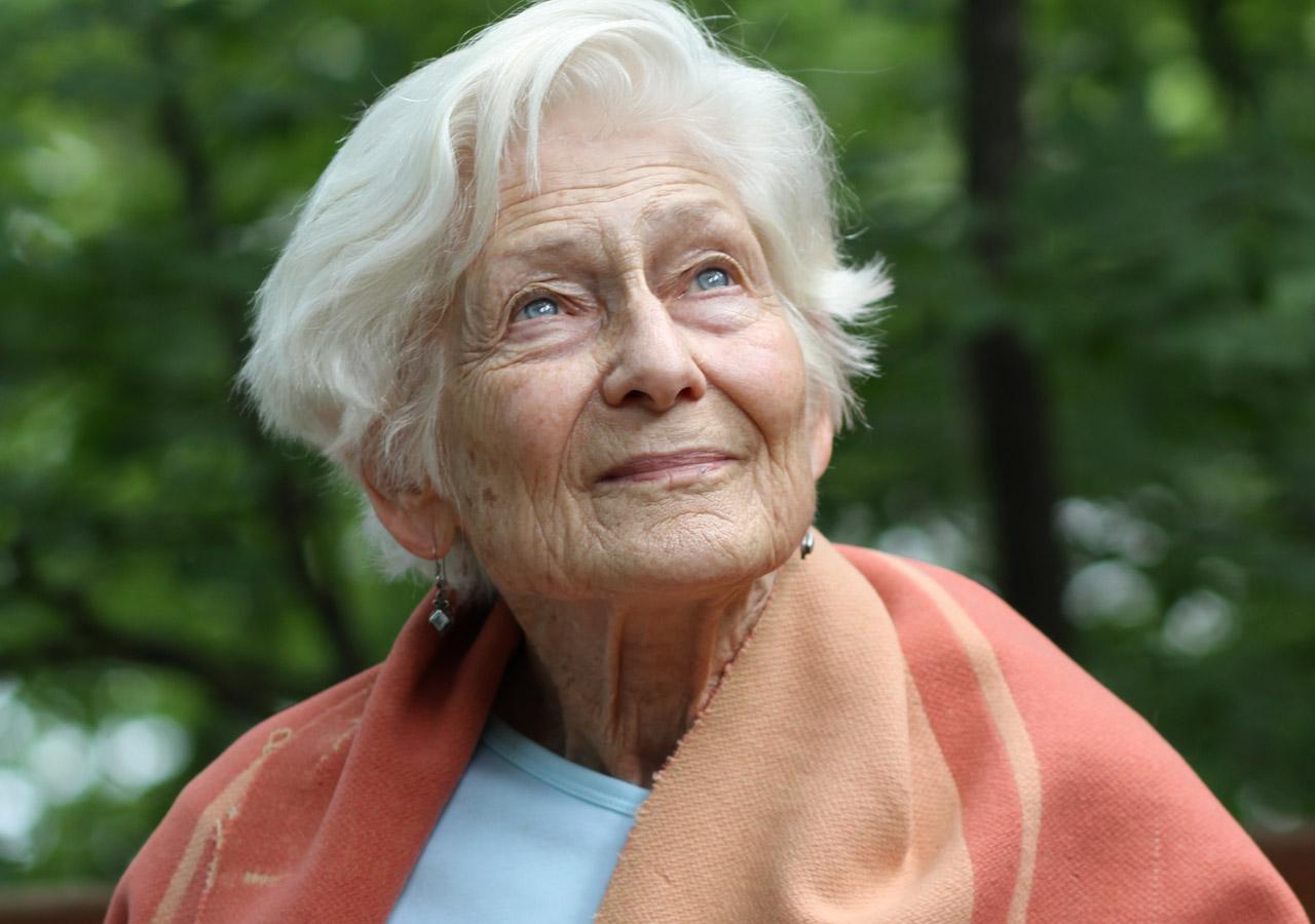 Holocaust survivor Irene Butter
