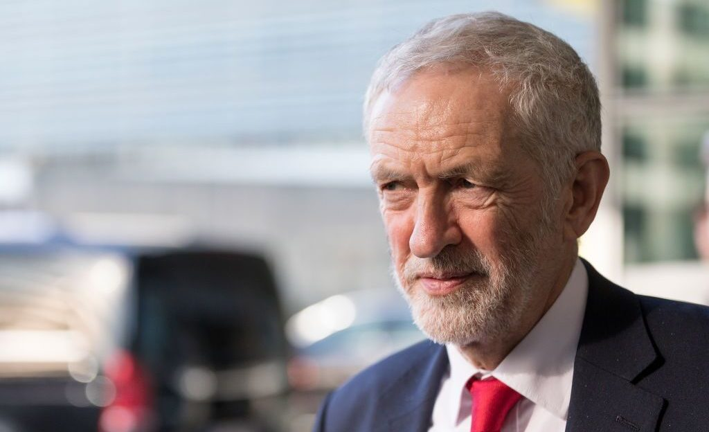 Jeremy Corbyn leads the British Labour Party. (Photo/JTA-Getty Images-Thierry Monasse)