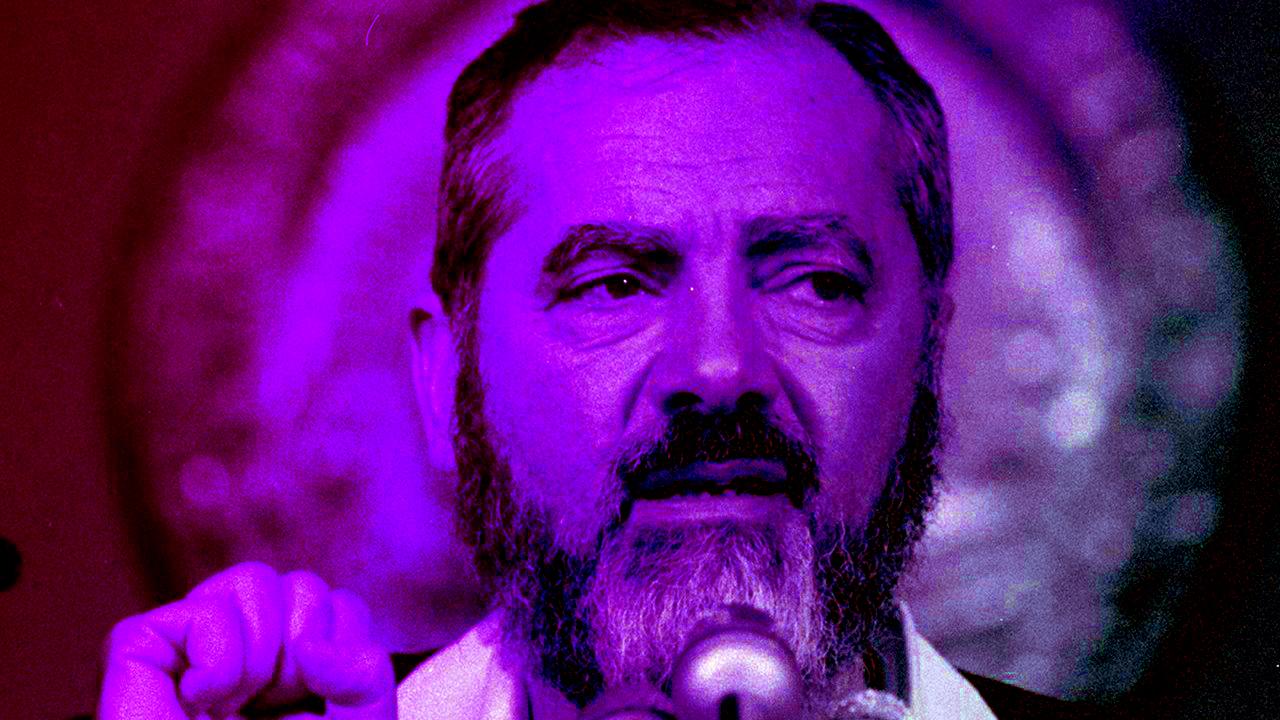 Meir Kahane in 1985 (Photo/JTA-Bettmann-Getty Images)