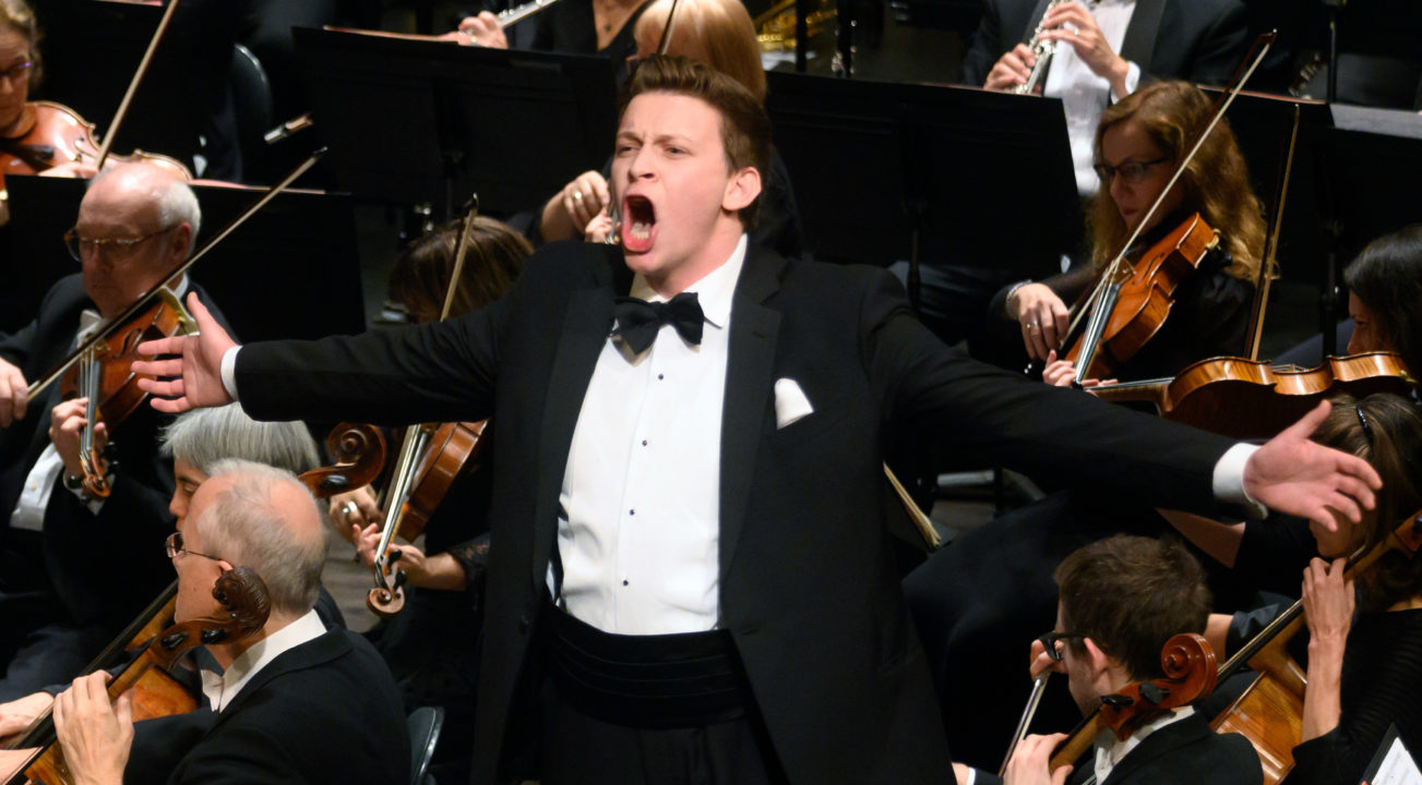 Aryeh Nussbaum Cohen is one of the few Jewish opera singers in the country. (Photo/Kristen Loken)