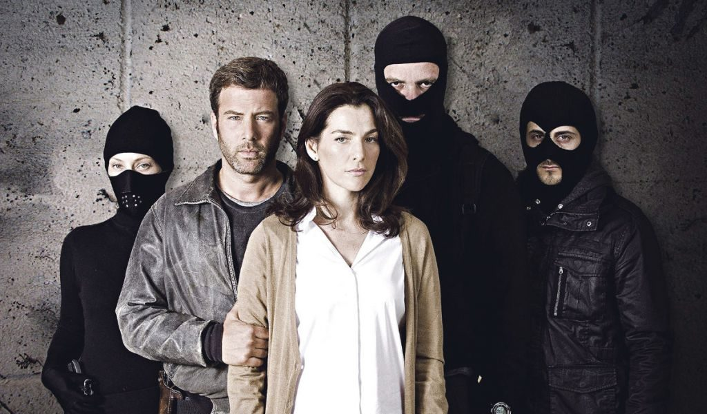 "The cast of ""Hostages,"" an Israeli TV show that can be streamed on Netflix in the U.S."