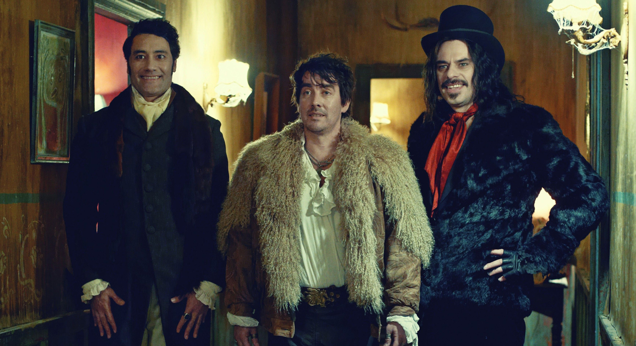 """The new FX series """"What We Do in the Shadows,"""" is based on a 2014 film of the same name co-directed and co-written by Taika Waititi, who also appears in the series (left)."""