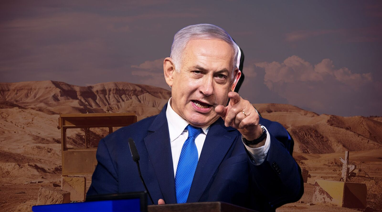 With Prime Minister Benjamin Netanyahu's re-election, annexation of the West Bank became a real possibility. (Montage/JTA-Getty Images-Flash90)