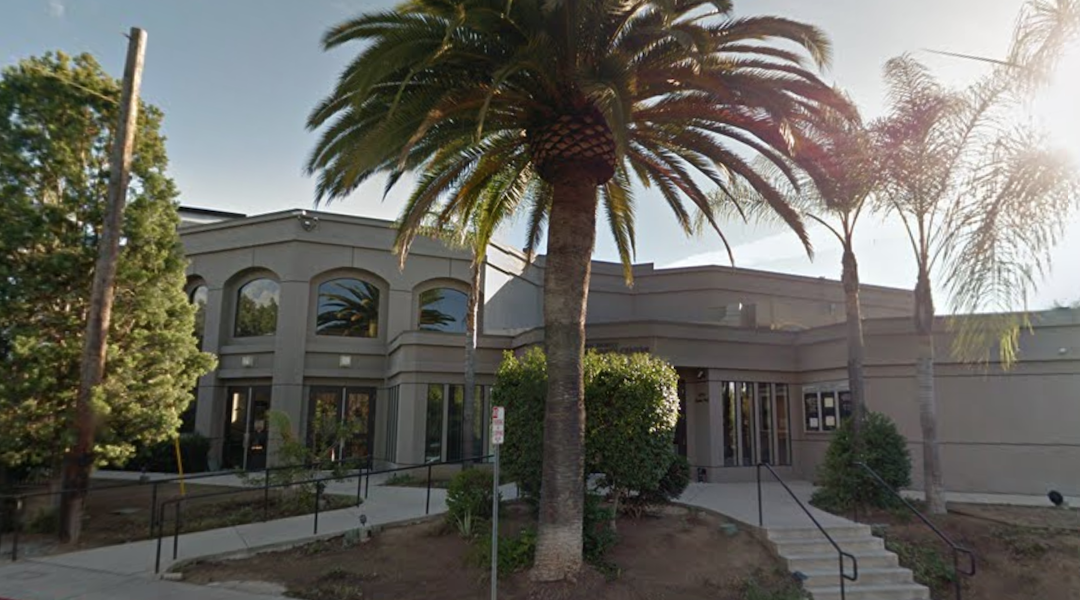 The Chabad synagogue in Poway, CA, near San Diego (Google street view)