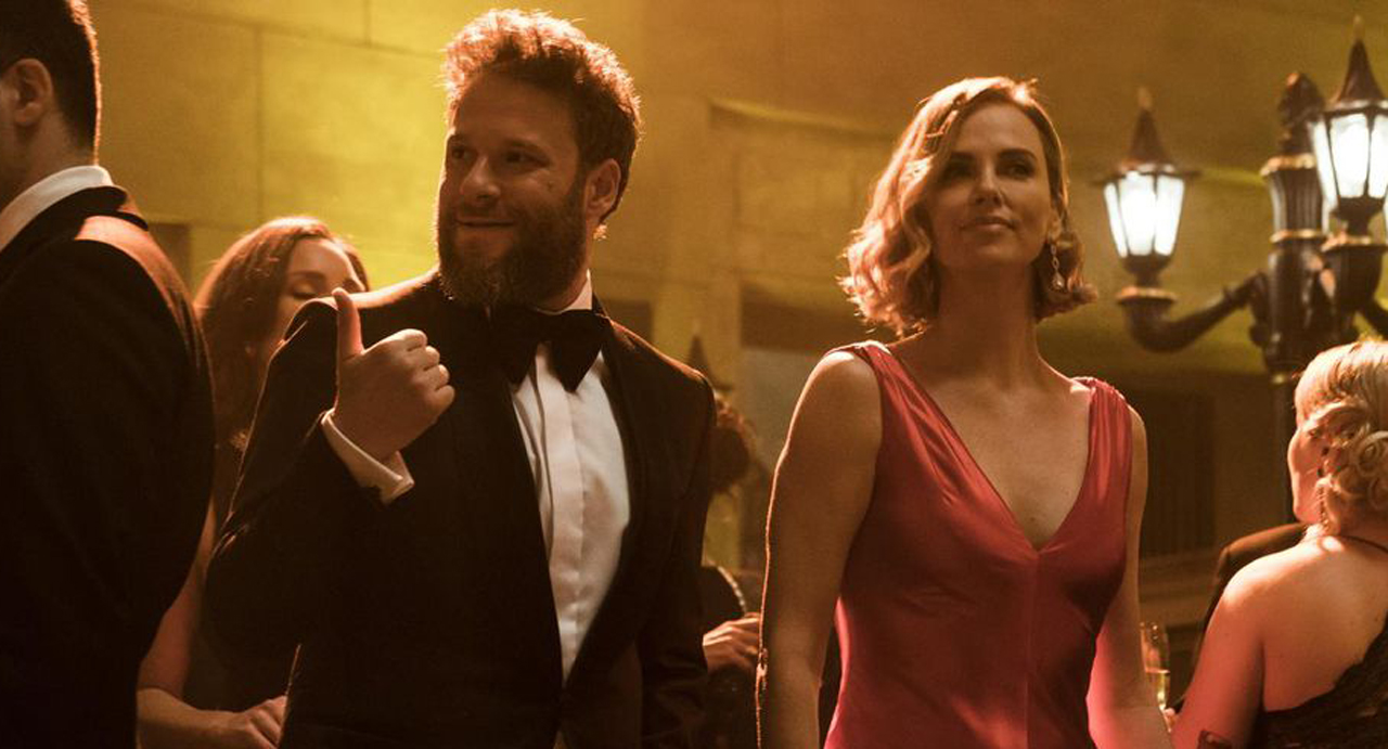 """Seth Rogen and Charlize Theron star in """"Long Shot"""""""