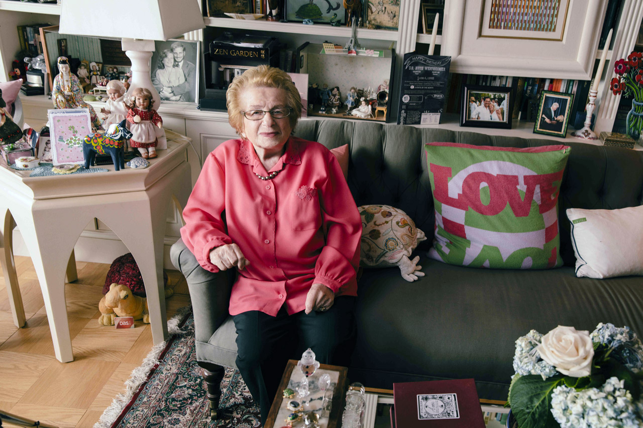 Dr. Ruth Westheimer, the Holocaust survivor who became America's most famous sex therapist (Photo/Austin Hargrave)