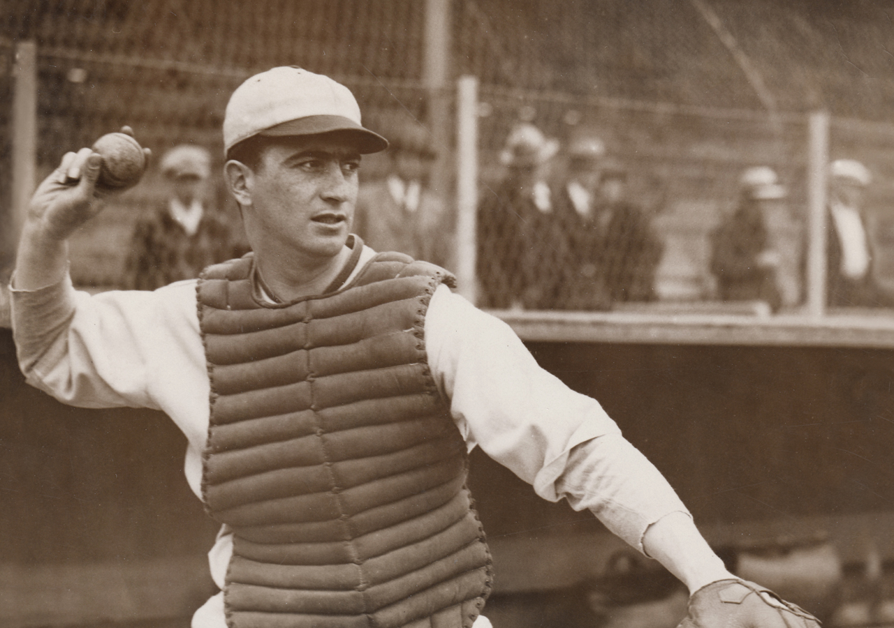 Moe Berg was a major league catcher for 15 years. (Photo/Courtesy Irwin Berg)