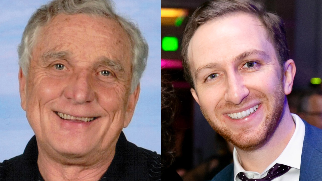 Moses Libitzky (left) and Aaron Tartakovsky (right) will be honored at AJC San Francisco's 2019 gala.