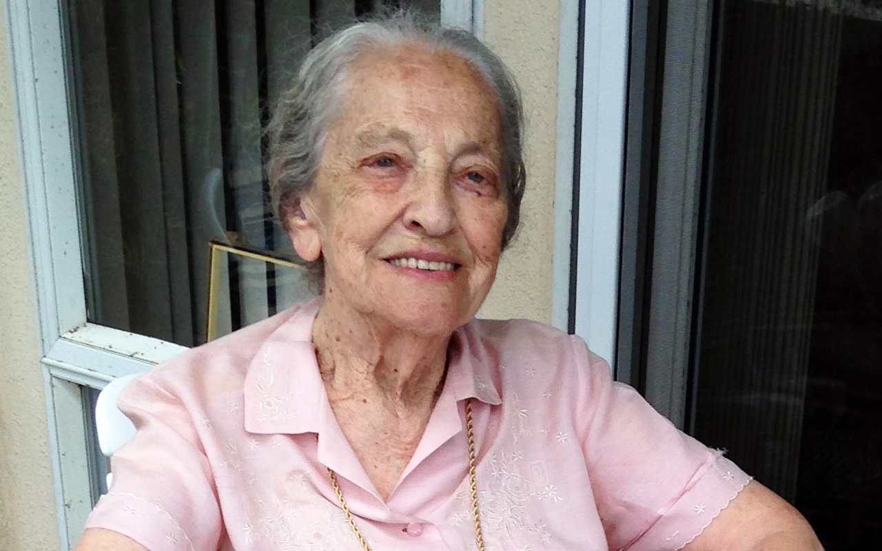 Dora Sorell, Holocaust survivor and popular educator on the Holocaust, passed away May 27, 2019.