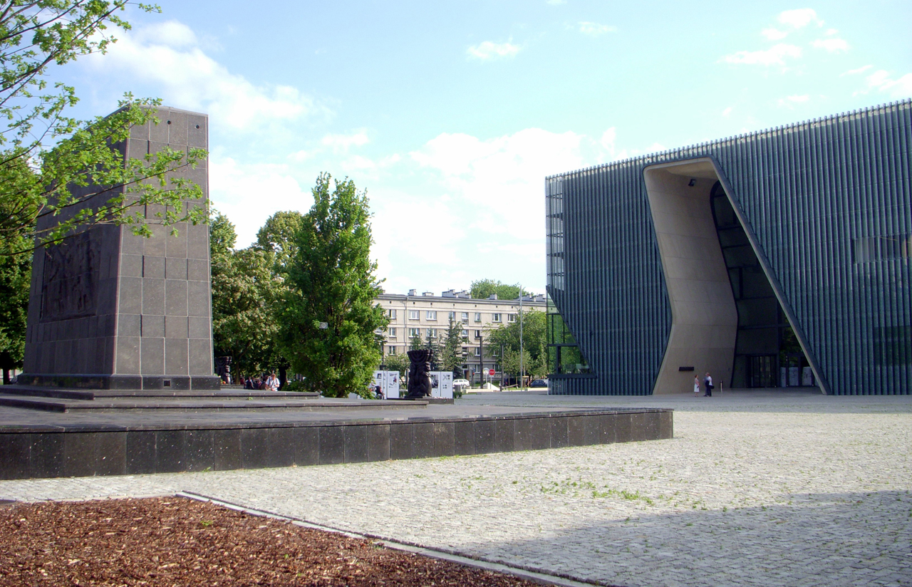 Exterior of the Polin Museum of the History of Polish Jews (Photo/from file)