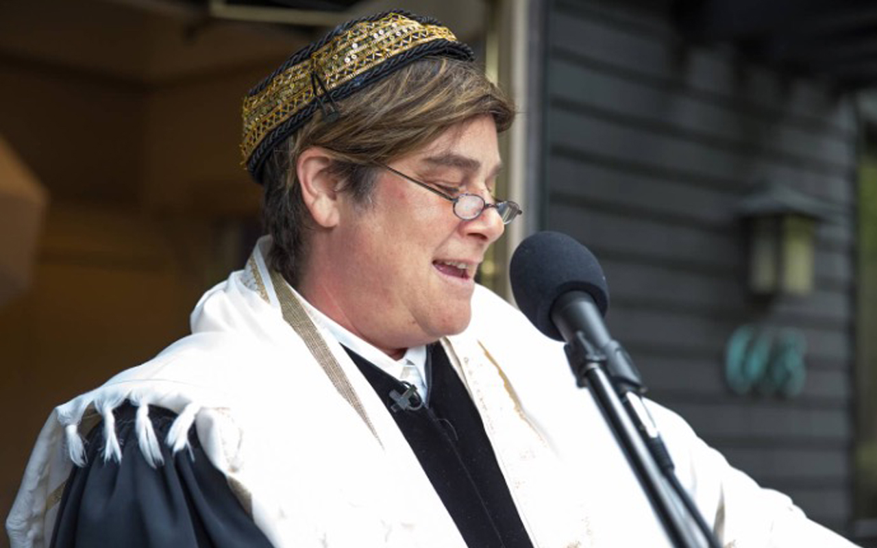 Rabbi Camille Shira Angel has been a presence at USF for years.(Photo/Courtesy Angel)