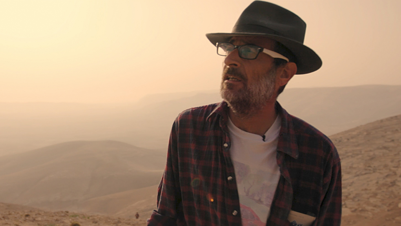 "Israeli photographer and activist Guy Hircefeld in ""Guy Hircefeld, a Guy With a Camera"" (Photo/El Dorado Films)"