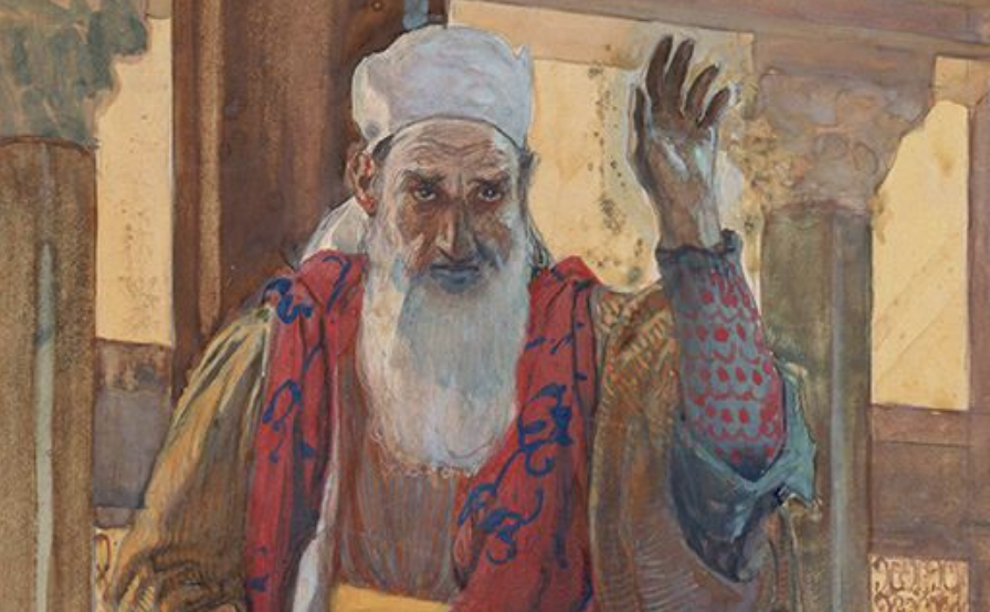 The prophet Isaiah by James Tissot, ca. 1900
