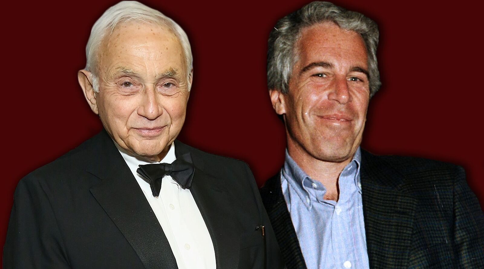 Leslie Wexner, left, and Jeffrey Epstein were close for years. Now Epstein's scandal is dogging the billionaire Jewish philanthropist. (Photos/Getty Images; Collage/JTA-Laura E. Adkins)
