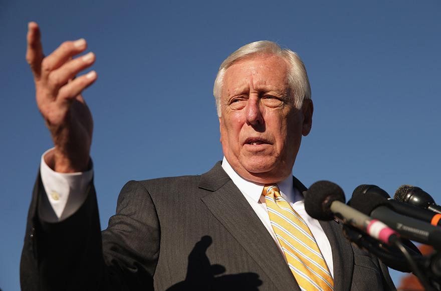 House of Representative Majority Leader Steny Hoyer (D-Md.) (Photo/JTA-Chip Somodevilla-Getty Images)