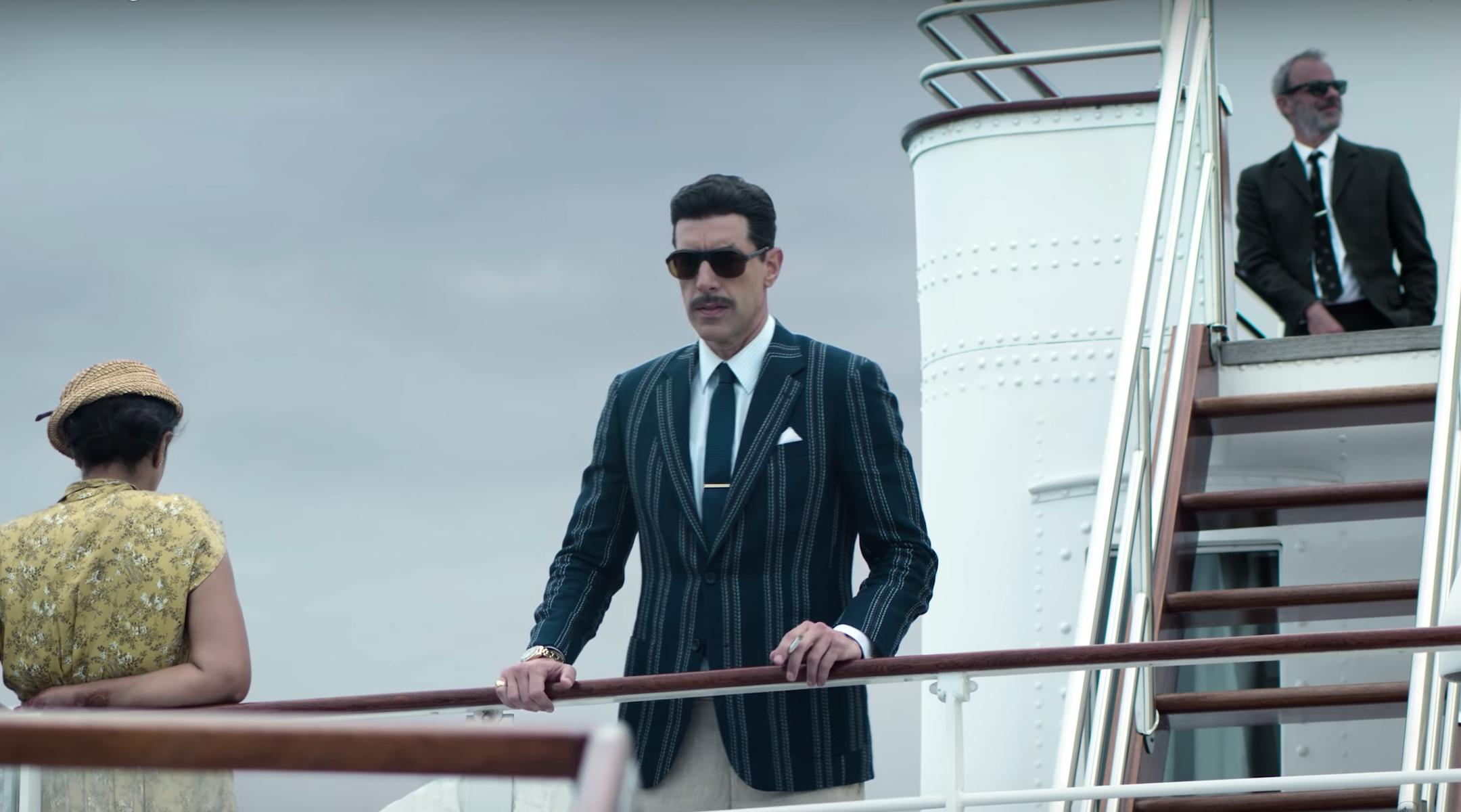 """Sacha Baron Cohen as Eli Cohen in """"The Spy"""""""