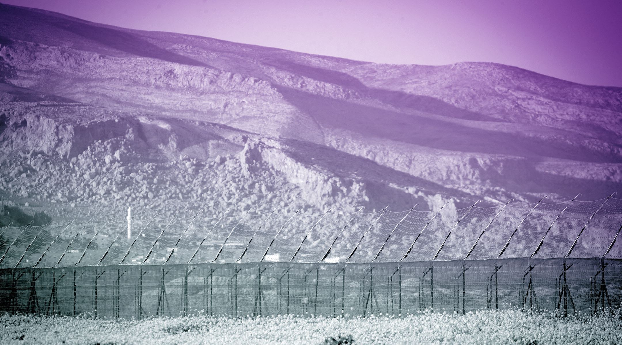 A view of the border fence between Israel and Jordan in the Jordan Valley, in the West Bank, Feb. 13, 2019. (Photo/JTA-Yonatan Sindel-Flash90)
