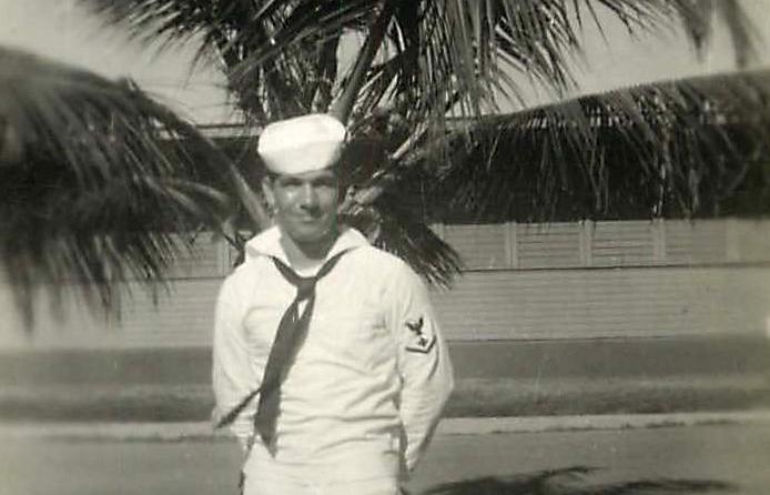 Hal Redsun as a Navy medic in 1946 (Photo/Courtesy Hal Redsun)