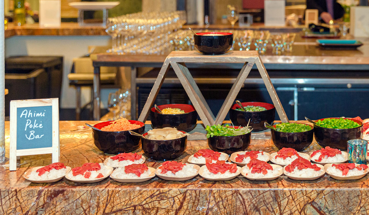 Ocean Hugger's Ahimi, which is made from tomatoes to mimic raw ahi tuna, was featured at a recent vegan Shabbat event in San Francisco.