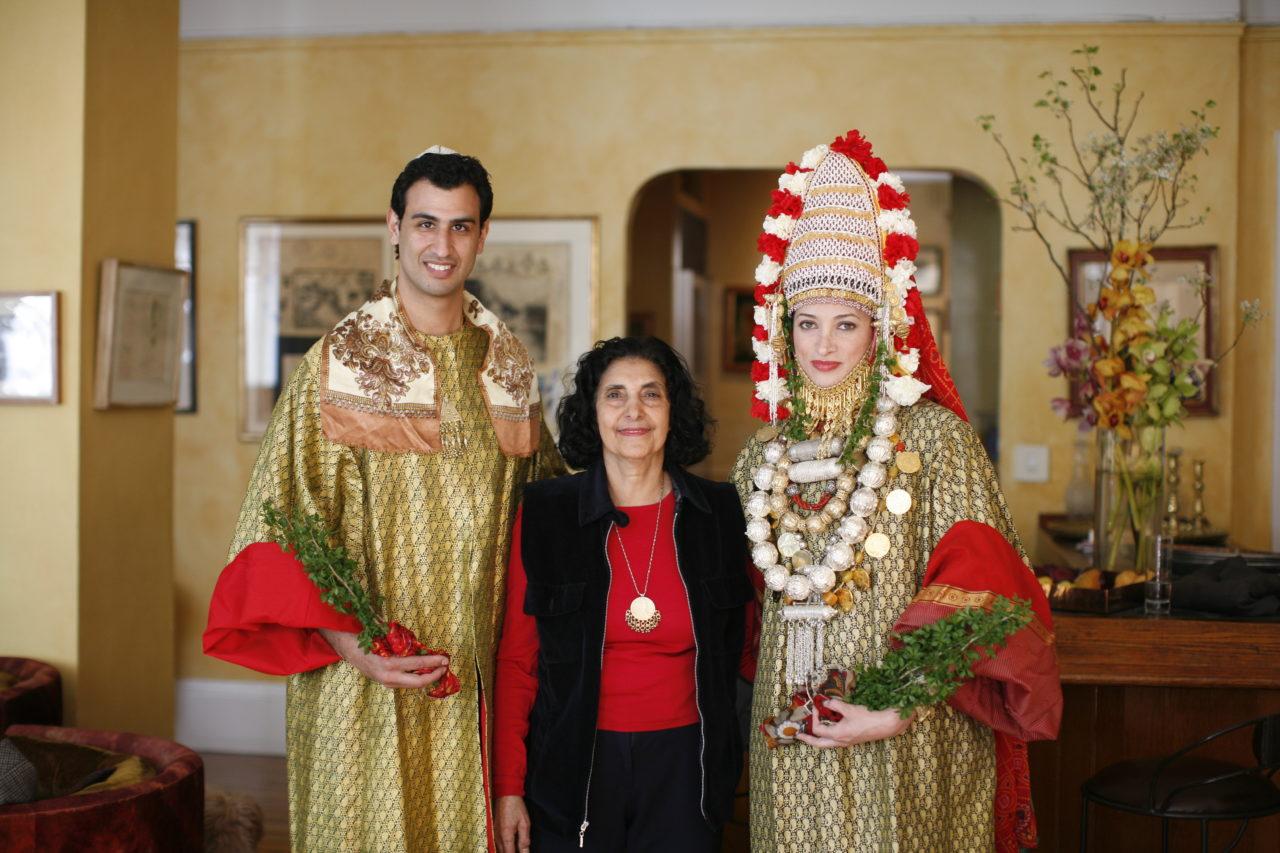 Preparing for a Bay Area Yemenite Jewish wedding (Photo/Punam Bean)