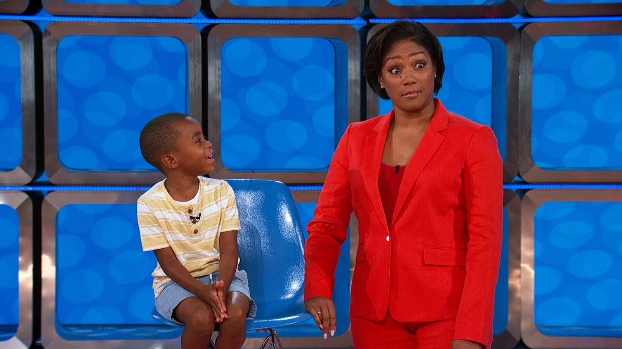 "Tiffany Haddish hosting ""Kids Say the Darndest Things"""