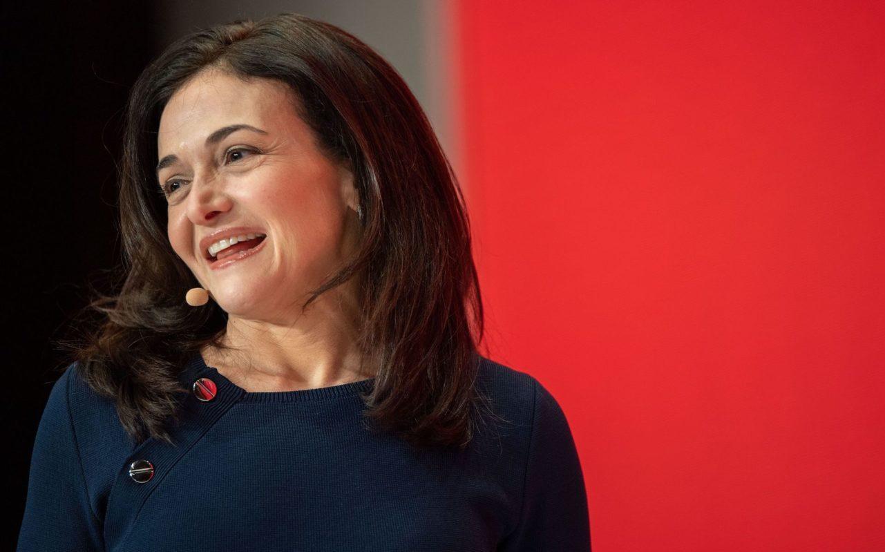 Sheryl Sandberg speaks during the Digital-Life-Design conference in Munich, Germany, Jan. 20, 2019. (Photo/JTA-Lino Mirgeler-DPA-AFP via Getty Images)