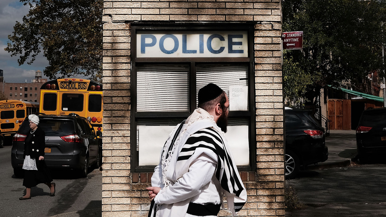 Anti-Semitic incidents in New York City have increased significantly this year. (JTA/Spencer Platt/Getty Images)