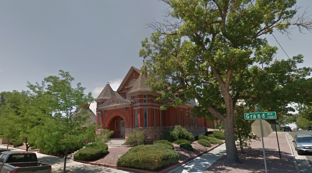 Temple Emanuel in Pueblo, Colo., was targeted in a bombing plot by a white supremacist whose plans never came to fruition. (Screenshot from Google Maps Street View)