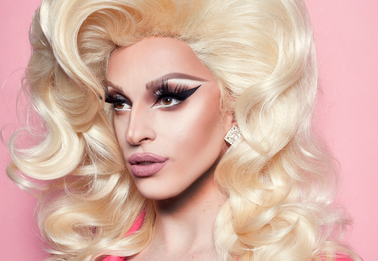 Jewish drag queen Mz. Cracker. (Eric Magnussen)