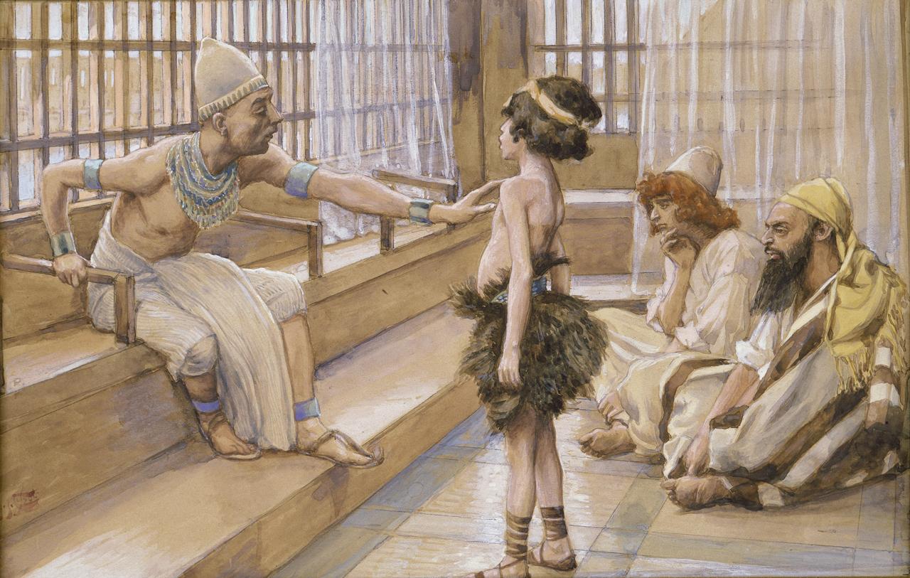 """Joseph Sold Into Egypt"" by James Tissot, ca. 1900"