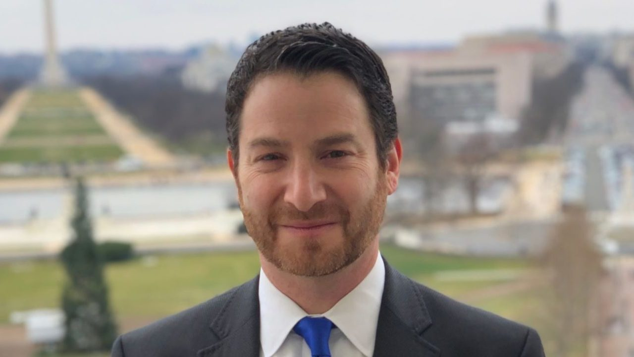"Joel Rubin says of Bernie Sanders: ""It is so valuable to have a politician and a leader running who gets it in his kishkes."" (JTA/Courtesy Rubin)"