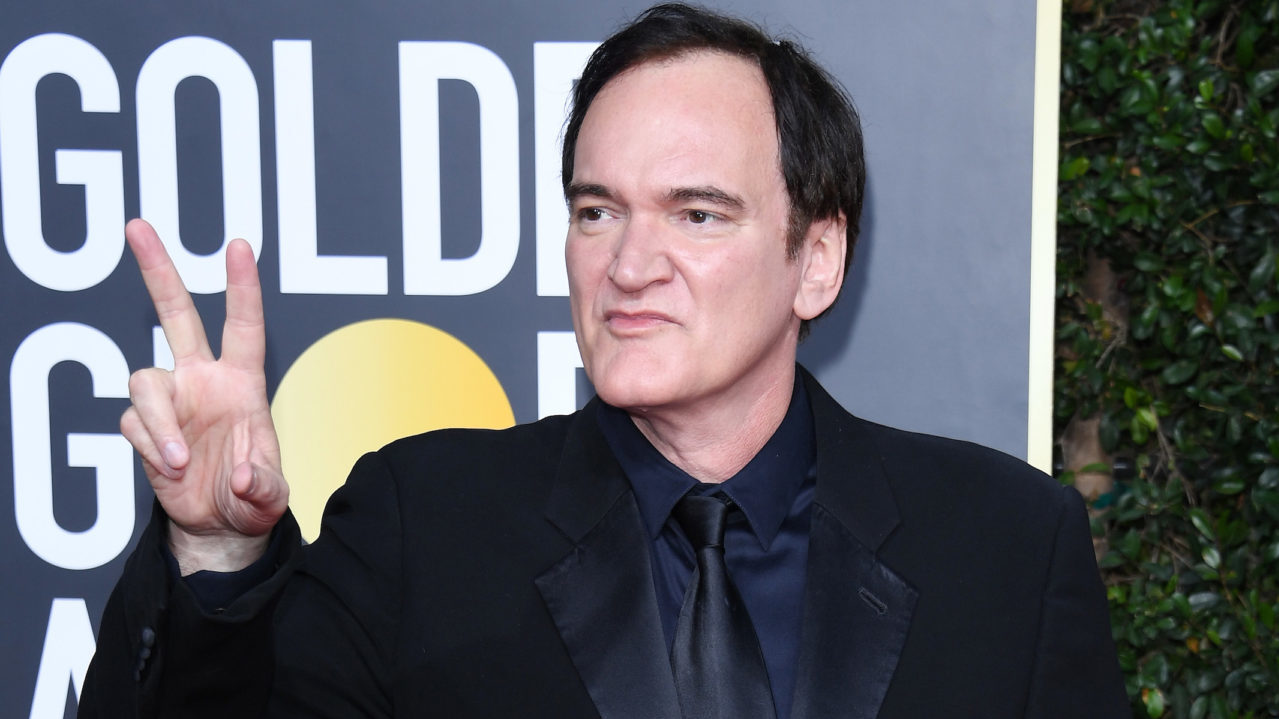 Quentin Tarantino at the Golden Globes at The Beverly Hilton Hotel in Los Angeles, Jan. 5, 2020. (JTA/Daniele Venturelli/WireImage/Getty Images)