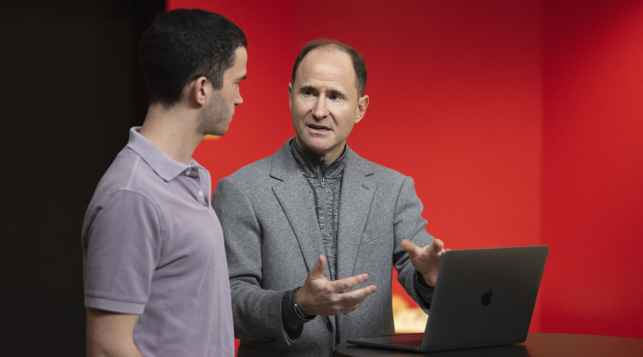 Adam Lehman will succeed Eric Fingerhut as the CEO of Hillel International. (Courtesy Hillel International)