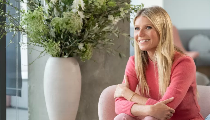 "Gwyneth Paltrow in ""Goop Lab"" on Netflix."