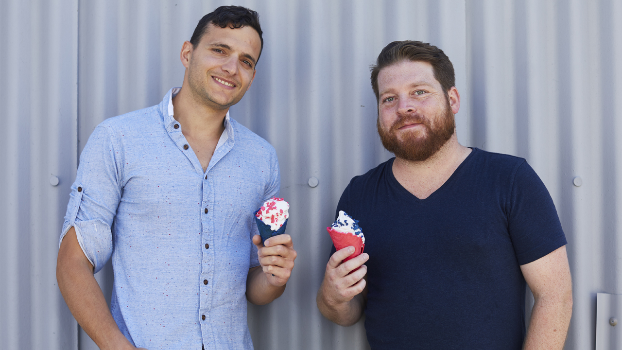 Eclipse Foods founders Aylon Steinhart (left) and Thomas Bowman. (Courtesy Eclipse Foods)