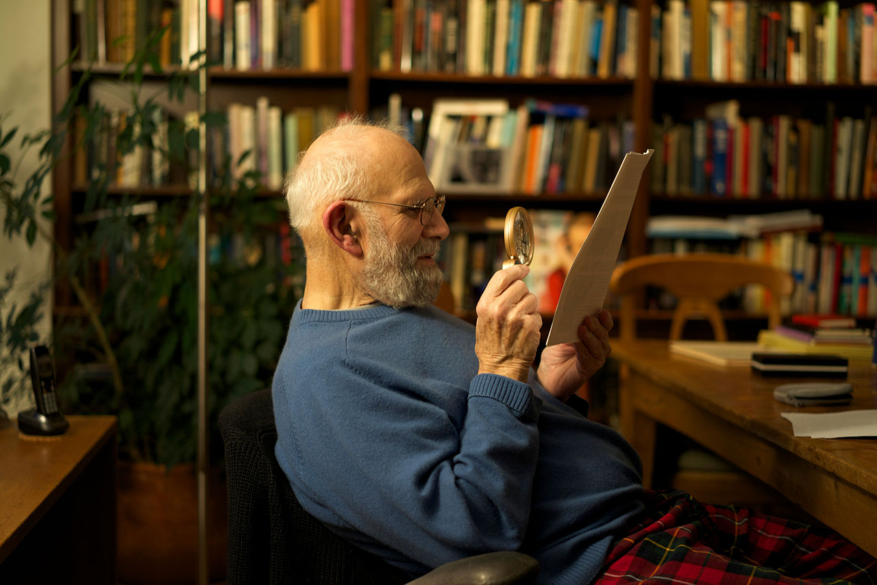 "Still from the docuentary ""Oliver Sacks: His Own Life,"" playing at Jewish Film Institute's WinterFest."