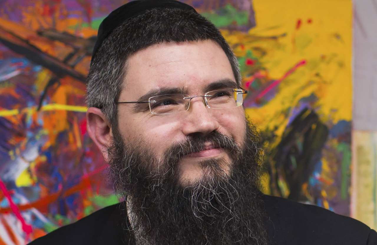 Rabbi Yossi Marcus, coeditor of a new edition of the Megillah. (FILE PHOTO)