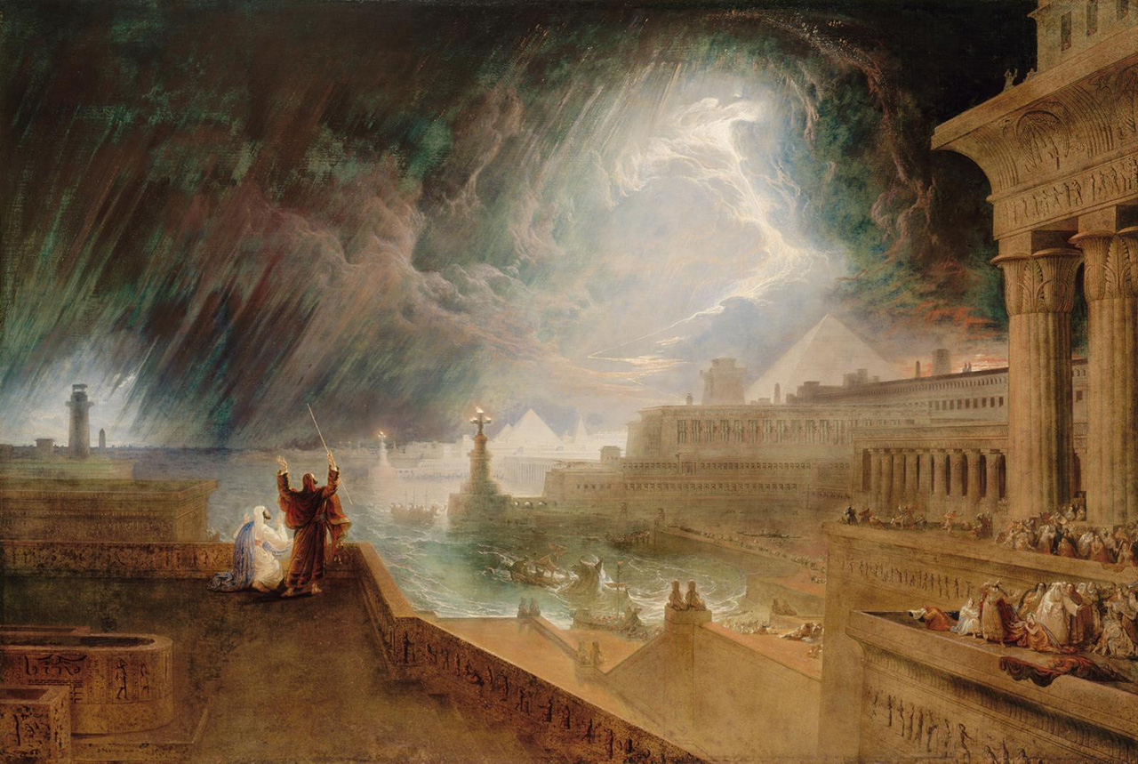 """The Seventh Plague"" by John Martin, 1823"