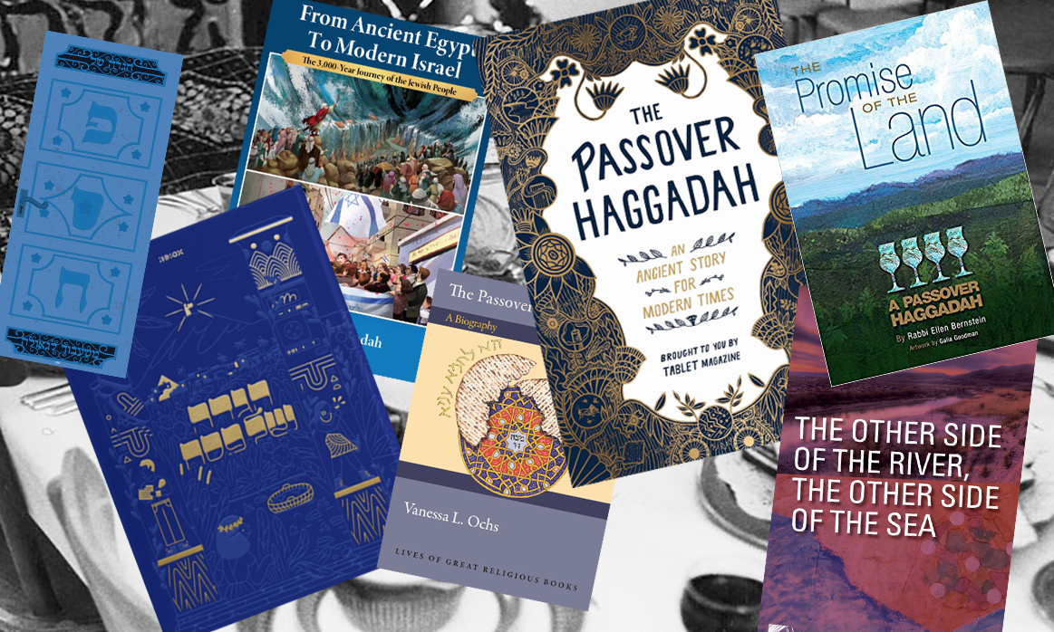 This Passover, as in every year, new haggadahs abound.