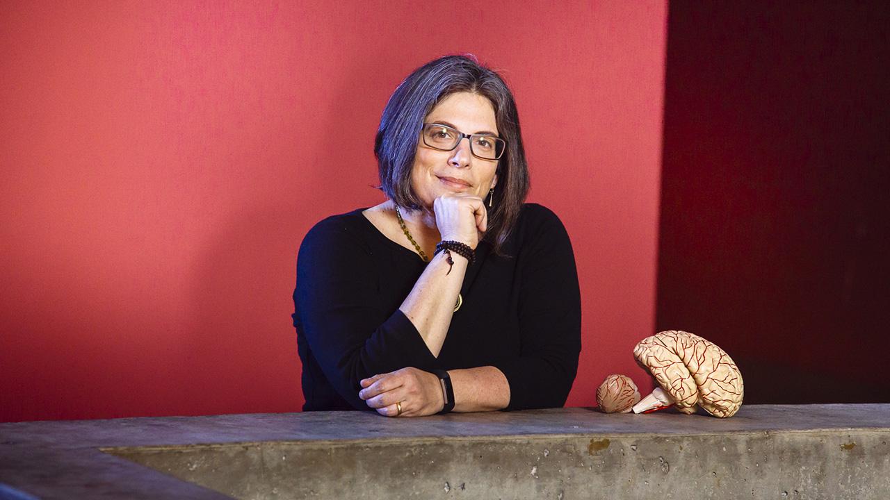 Daniela Kaufer, professor of integrative biology at UC Berkeley. (Photo/Courtesy Kaufer)