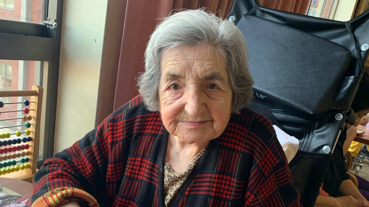 Doba Gendelman is a resident of the San Francisco Campus for Jewish Life. Her daughter-in-law, Irina Gendelman, fears for Doba and other residents as the facility begins accepting Covid-19 patients. (Photo/Courtesy Irina Gendelman)