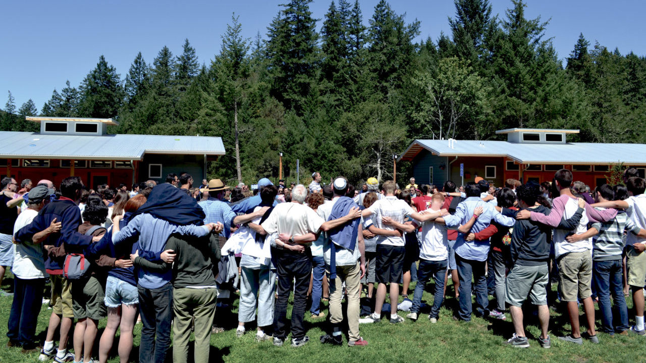 URJ Camp Newman (seen here before it was ravaged by fire in 2017) has decided to cancel summer 2020 due to the coronavirus pandemic. (Photo/File)