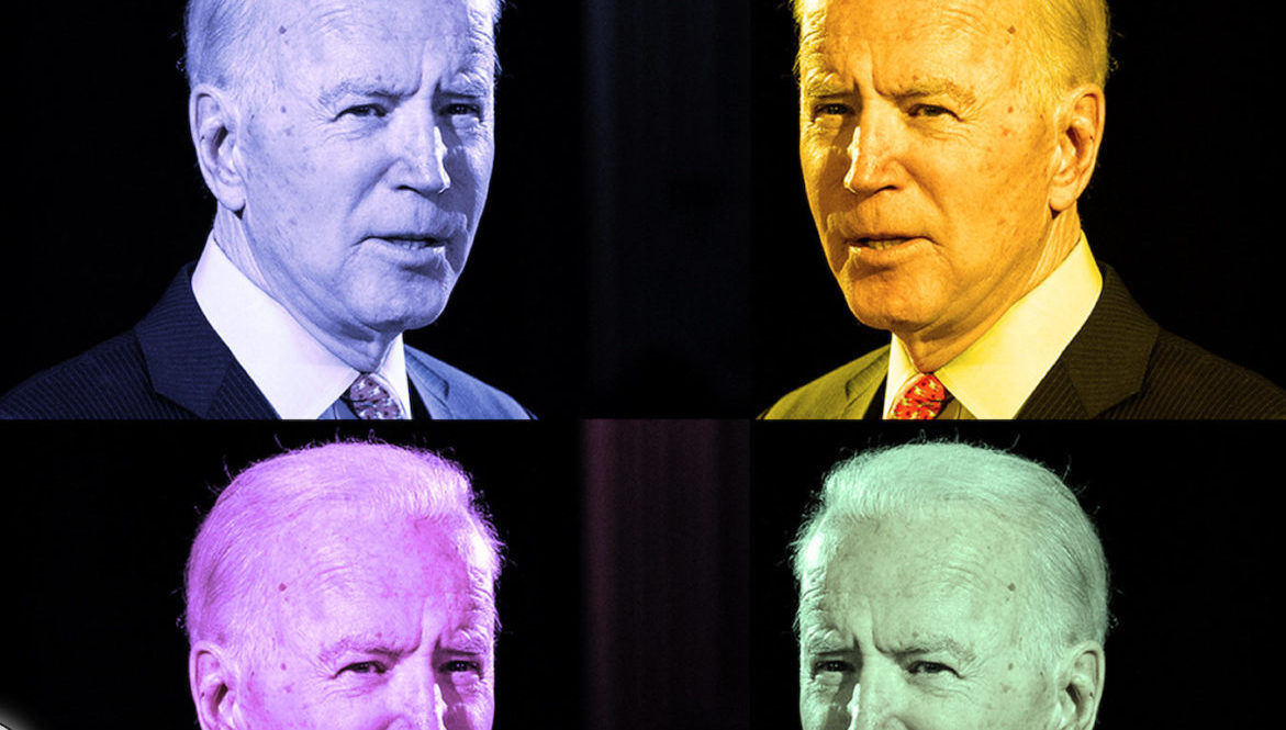 Joe Biden must surmount disadvantages in fundraising and media opportunities in his White House bid. (Photo/Getty Images-JTA montage)