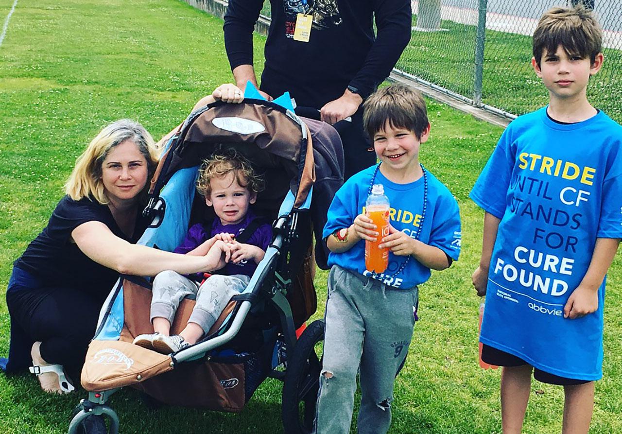Jody Passanisi and her kids