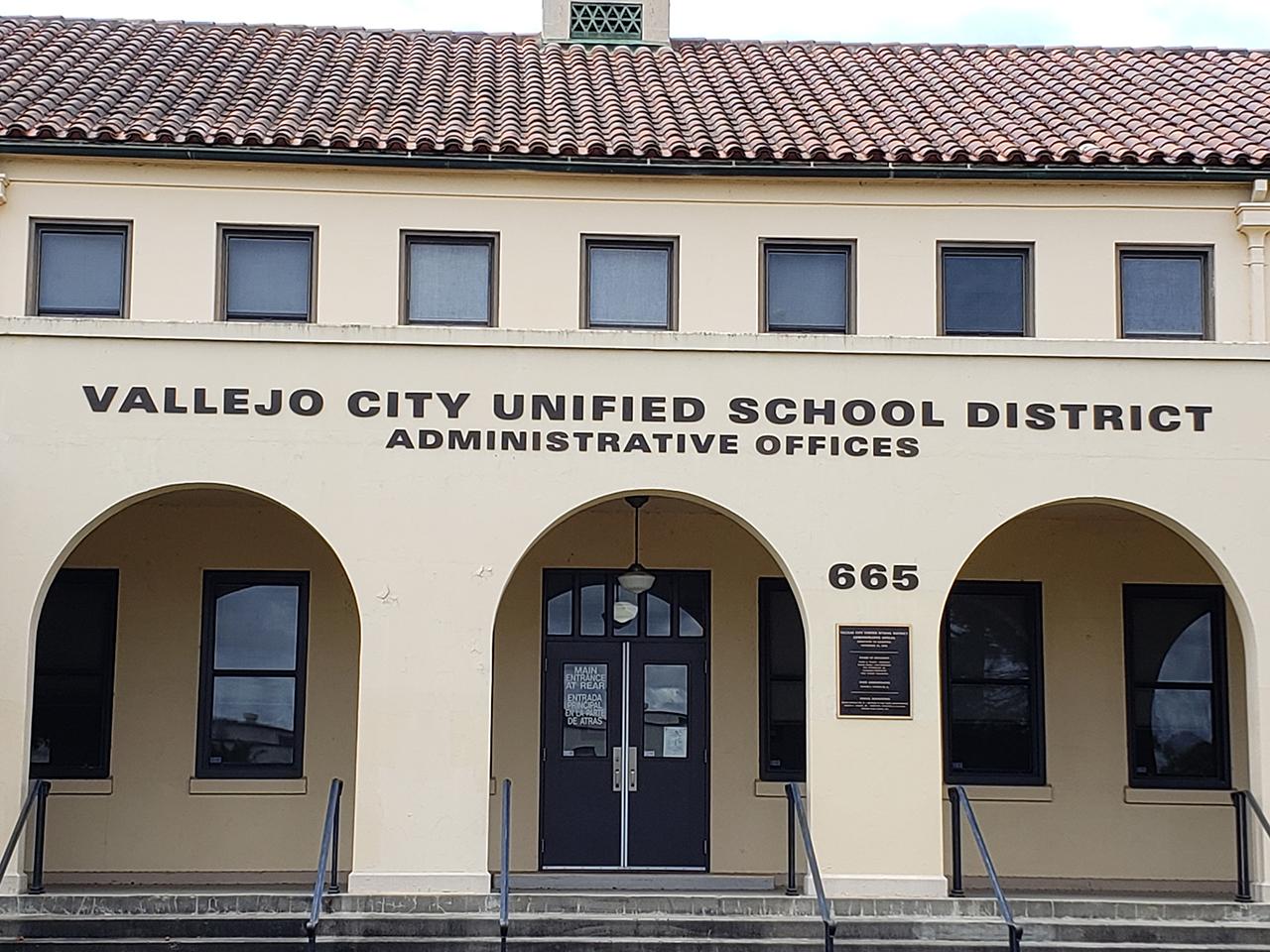 Vallejo Unified School District building. (Photo/Rachel Raskin-Zrihen)