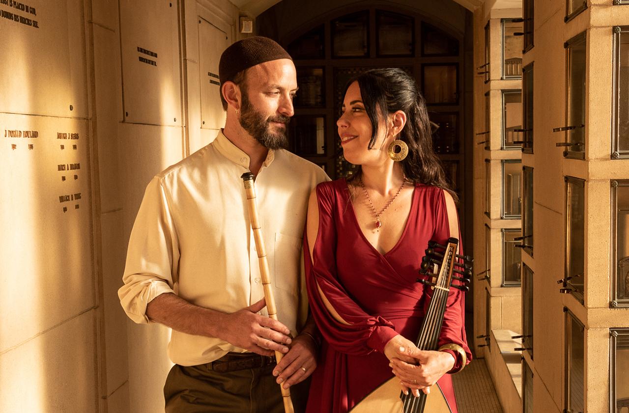Eliyahu Sills and Rachel Valfer (Photo/Redwood Rose Photography)