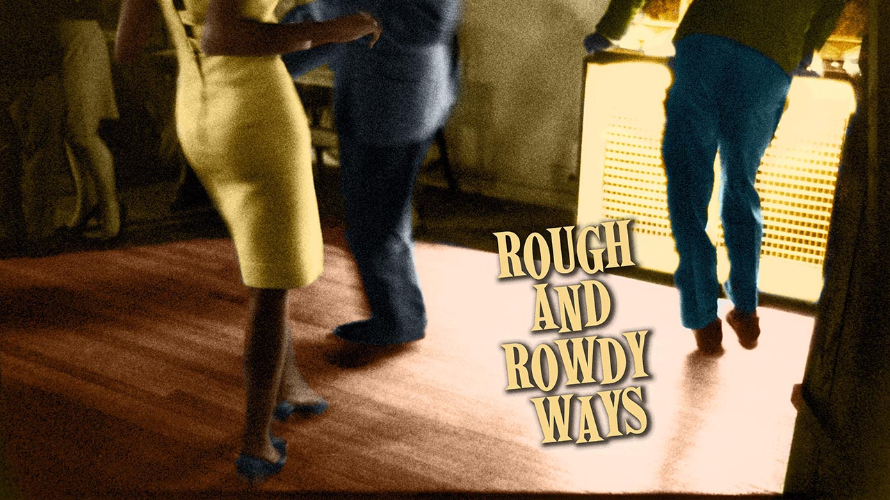 "The cover art for Bob Dylan's new album, ""Rough and Rowdy Ways,"" features a 1964 photo of an underground black nightclub in London."