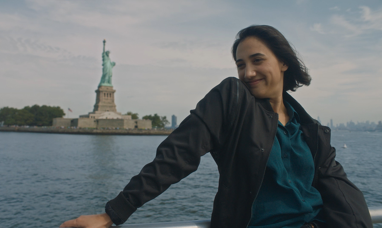"""Julia Lindon in a scene from """"Lady Liberty."""" (Photo/Courtesy Classy Kid Productions)"""